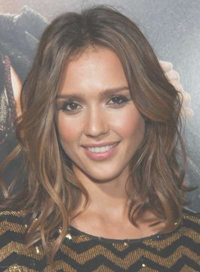 Jessica Alba - Beauty Riot for Most Current Jessica Alba Medium Hairstyles