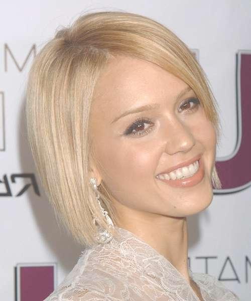 Jessica Alba Best Celebrity Bob Hairstyles – New Hairstyles Throughout Celebrity Bob Haircuts (View 25 of 25)