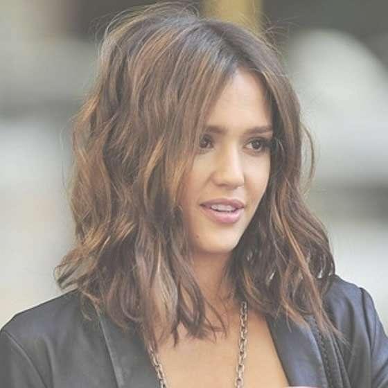 Jessica-Alba-Bob-Haircut | Journal Of A Star Sister inside Jessica Alba Long Bob Haircuts