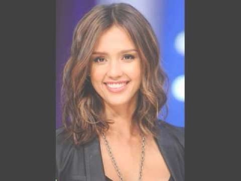 Jessica Alba Haircut Hairstyles - Youtube with regard to Jessica Alba Long Bob Haircuts