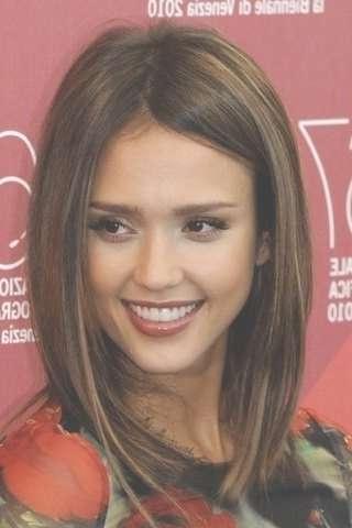 Jessica Alba || Hairstyle A Long Bob | Hair | Pinterest | Jessica regarding Jessica Alba Long Bob Haircuts