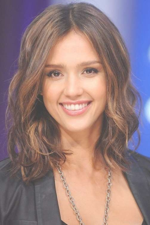 Jessica Alba Hairstyles - Celebrity Latest Hairstyles 2016 with Recent Jessica Alba Medium Haircuts