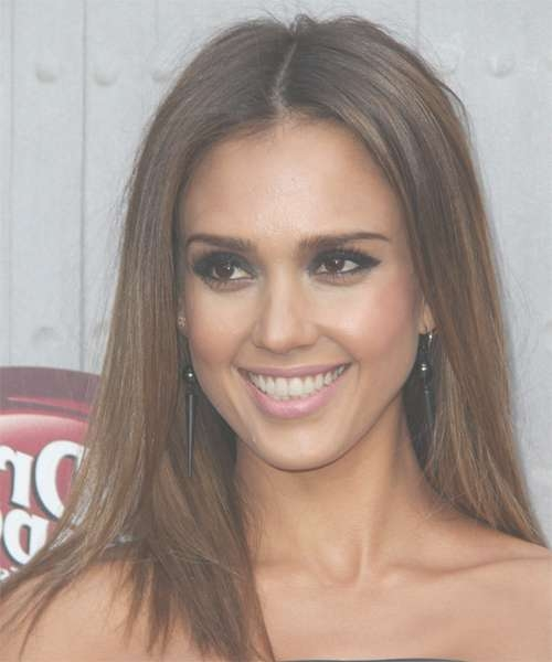 Jessica Alba Hairstyles For 2018 | Celebrity Hairstyles inside Most Up-to-Date Jessica Alba Medium Hairstyles
