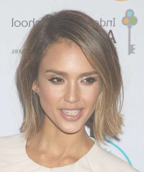 Jessica Alba Hairstyles For 2018 | Celebrity Hairstyles intended for Current Jessica Alba Medium Hairstyles