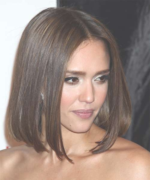 Jessica Alba Hairstyles For 2018 | Celebrity Hairstyles throughout Latest Jessica Alba Medium Hairstyles