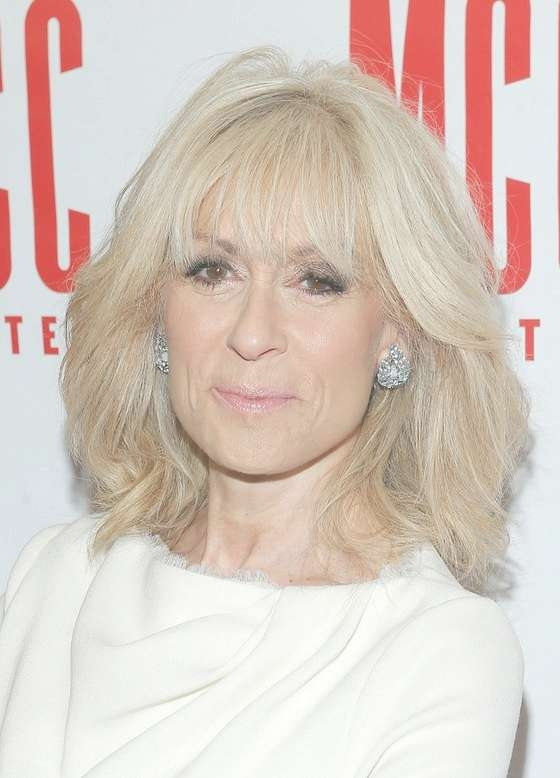 Judith Light Latest Textured Medium Haircut With Layers For Older For 2018 Medium Haircuts For Older Women (View 20 of 25)