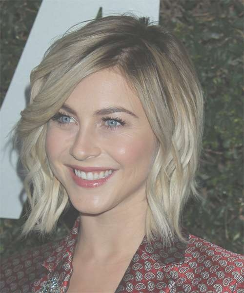 Julianne Hough Hairstyles In 2018 with Recent Ash Blonde Medium Hairstyles