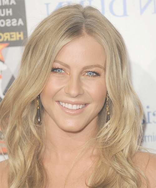 Julianne Hough Long Wavy Casual Hairstyle - Medium Blonde (Honey pertaining to Most Recent Julianne Hough Medium Hairstyles