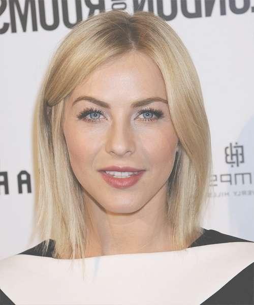 Julianne Hough Medium Straight Formal Hairstyle – Medium Blonde Throughout Newest Julianne Hough Medium Haircuts (View 8 of 25)