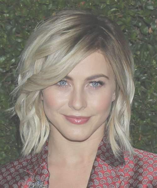 Julianne Hough Medium Wavy Casual Hairstyle - Medium Blonde (Ash pertaining to Most Current Julianne Hough Medium Hairstyles