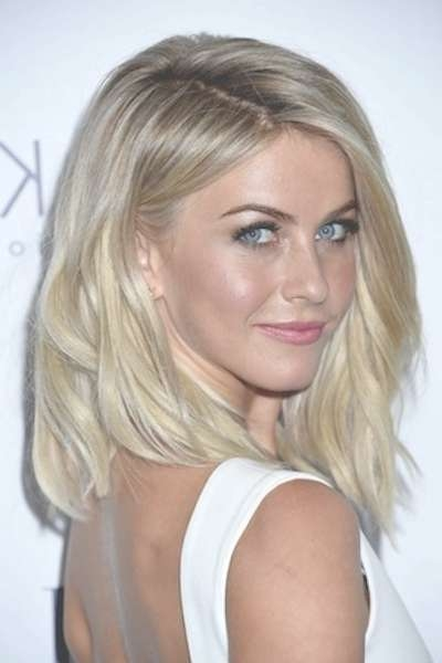 Julianne Hough's Medium Length Blonde Hair - Casual, Party, Summer in Most Recently Julianne Hough Medium Hairstyles