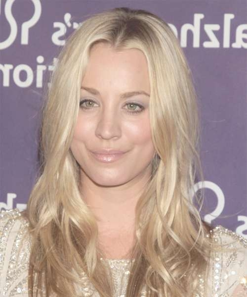 Kaley Cuoco Hairstyles In 2018 Pertaining To Best And Newest Kaley Cuoco Medium Hairstyles (View 9 of 15)