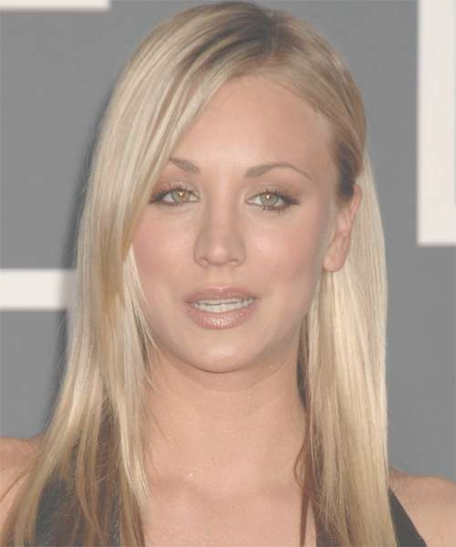 Kaley Cuoco Hairstyles In 2018 Within Current Kaley Cuoco New Medium Haircuts (View 10 of 25)