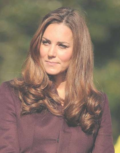 Kate Middleton Medium Soft Curls Hairstyle – Popular Haircuts For Current Medium Hairstyles Loose Curls (View 11 of 25)