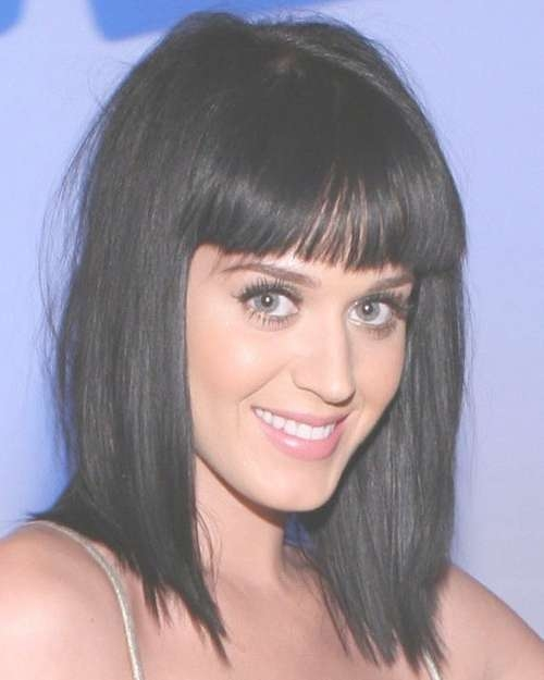 Katy Perry Medium Choppy Hairstyle – Casual, Everyday For Latest Katy Perry Medium Hairstyles (View 18 of 25)