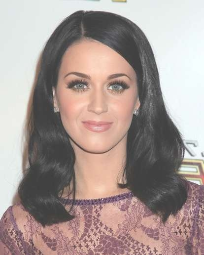 Katy Perry Medium Length Wavy Hair Styles For Black Hair – Popular With Most Up To Date Katy Perry Medium Hairstyles (View 4 of 25)
