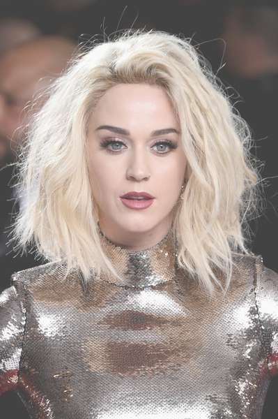 Katy Perry Medium Wavy Cut – Katy Perry Shoulder Length Hairstyles Pertaining To Most Recently Katy Perry Medium Hairstyles (View 14 of 25)