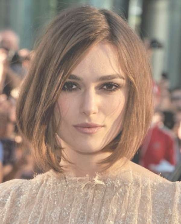 Keira Knightley Bob Haircut Consistentwith For A Performance In Intended For Keira Knightley Bob Haircuts (View 16 of 25)