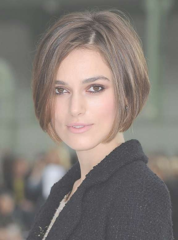 Keira Knightley Short Stacked Bob Haircutm For Women | Styles Weekly Within Keira Knightley Bob Haircuts (View 20 of 25)