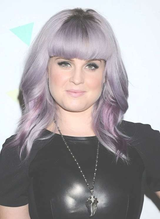 Kelly Osbourne Hair Styles 2014: Medium Haircut With Blunt Bangs With 2018 Medium Haircuts With Straight Bangs (View 20 of 25)
