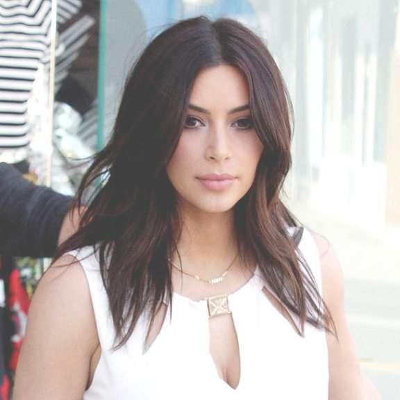 Kim Kardashian Hairstyles | Hairjos Inside Most Recent Kim Kardashian Medium Hairstyles (View 19 of 25)