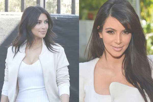 Kim Kardashian's New Hairstyle 2014 – Hairstyles Weekly Intended For Most Recently Kim Kardashian Medium Haircuts (View 13 of 25)