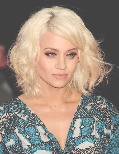 Kimberley Wyatt Medium, Tousled Hairstyles For Blonde Hair 2013 Intended For Current Tousled Medium Hairstyles (View 4 of 15)