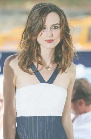 Knightley Medium Hairstyle For Current Keira Knightley Medium Hairstyles (View 4 of 15)