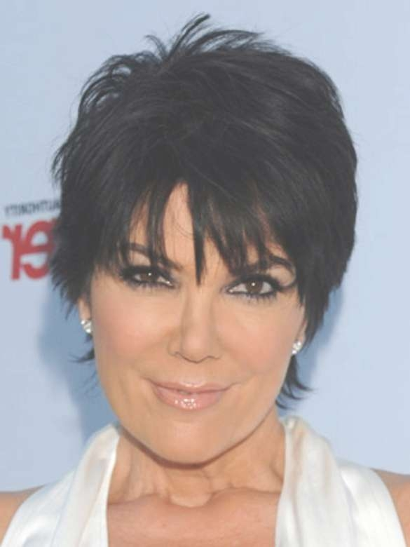 Kris Jenner And Her Short Layered Haircut – Hair World Magazine Inside Most Up To Date Medium Haircuts Kris Jenner (View 10 of 25)