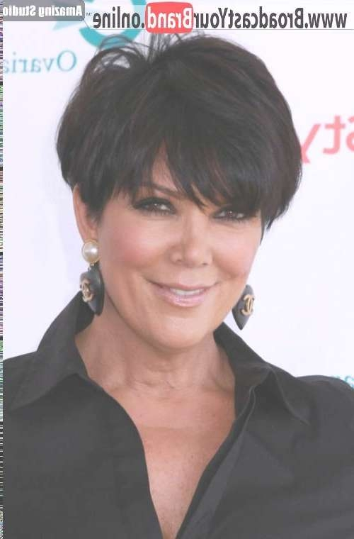 Displaying Gallery of Kris Jenner Medium Hairstyles (View 8 of 15 ...