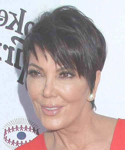 Kris Jenner Hairstyles In 2018 Intended For Most Current Kris Jenner Medium Haircuts (View 11 of 25)