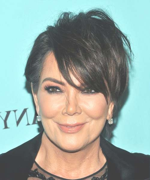 Kris Jenner Hairstyles In 2018 With Current Kris Jenner Medium Haircuts (View 9 of 25)