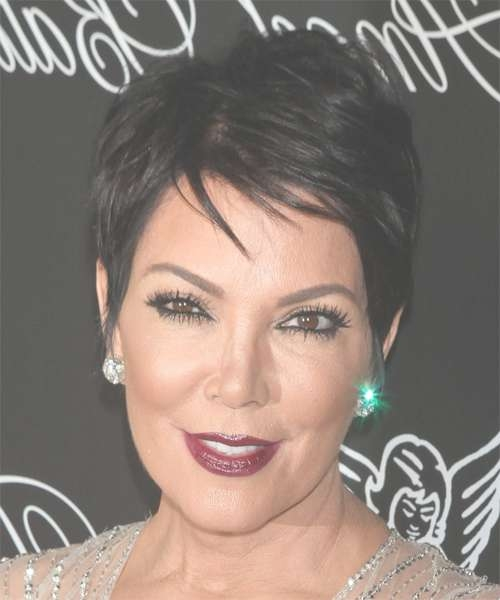 Kris Jenner Hairstyles In 2018 With Most Current Kris Jenner Medium Haircuts (View 15 of 25)