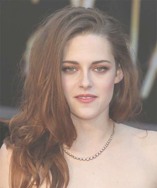 Kristen Stewart Hairstyles In 2018 In Most Recently Kristen Stewart Medium Hairstyles (View 4 of 15)