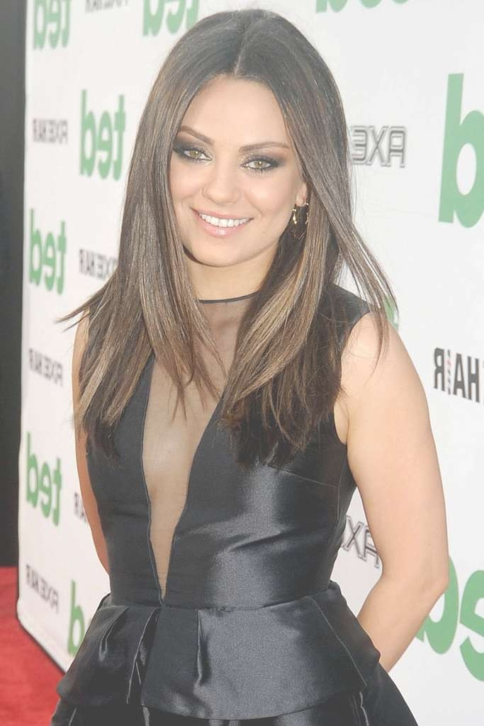 Kunis For Current Mila Kunis Medium Hairstyles (View 15 of 25)