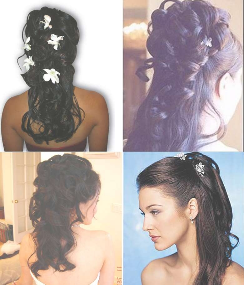 Latest Indian Hairstyles For Medium Hair Pertaining To 2018 Indian Wedding Medium Hairstyles (View 17 of 25)