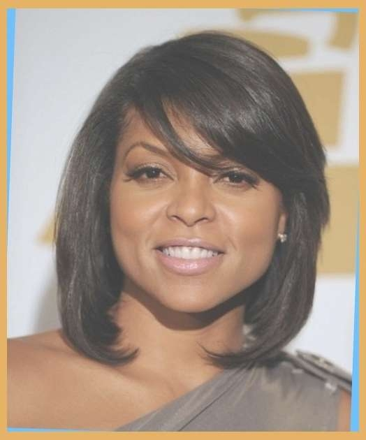 Latest Trends Short Hairstyles For Black Women In Medium Length Throughout Most Up To Date Medium Hairstyles For African American Women (View 15 of 25)