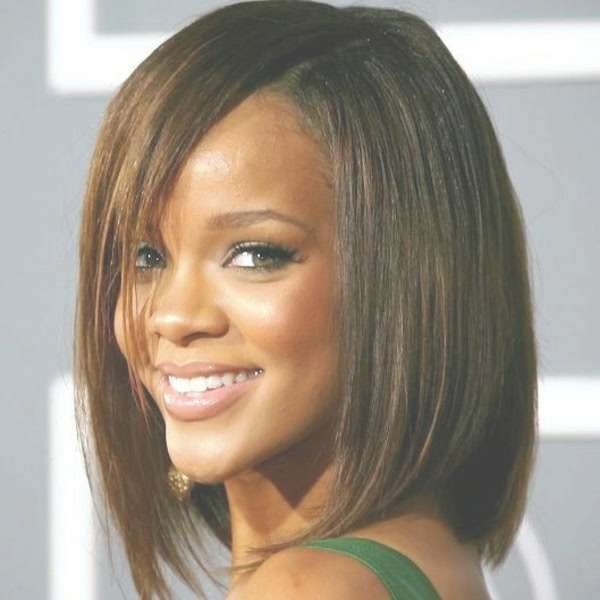 Latest Trends Short Hairstyles For Black Women Pertaining To Most Recently Medium Haircuts For Black Women With Round Faces (View 23 of 25)