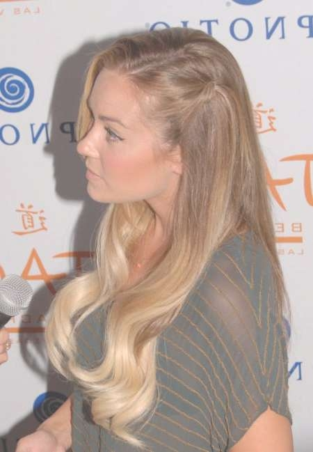 Lauren Conrad Hairstyle In Latest Lauren Conrad Medium Hairstyles (View 9 of 15)