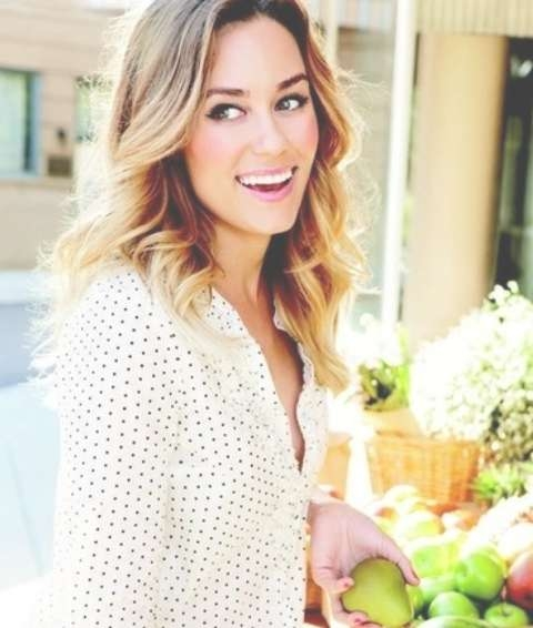 Lauren Conrad Hairstyles: Cheerful Curls – Pretty Designs Pertaining To Most Up To Date Lauren Conrad Medium Haircuts (View 25 of 25)