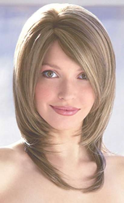 Layered Bob Hairstyles For Women With Side Bangs With Regard To Newest Medium Hairstyles With Side Bangs And Layers (View 12 of 25)
