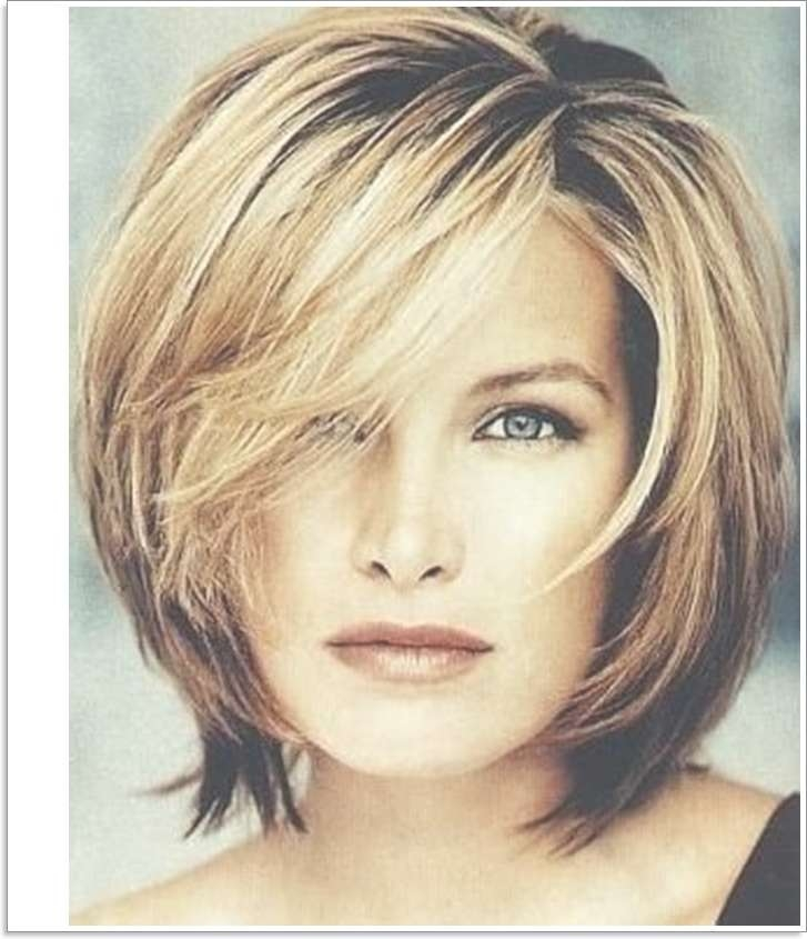 Layered Haircut For Thick Hair – Dhairstyles In Most Recent Choppy Medium Hairstyles For Thick Hair (View 14 of 15)