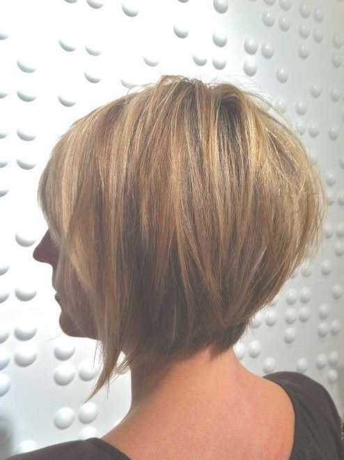 Layered Inverted Bob Haircut For Women | Styles Weekly Throughout Inverted Bob Haircuts (View 25 of 25)