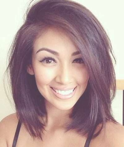Layered Medium Bob Hairstyle For | Cute Hair | Pinterest | Bob Intended For Shoulder Bob Haircuts (View 7 of 25)