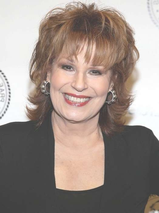 Layered Medium Hairstyle For Women Over 60 – Joy Behar Hairstyles Throughout 2018 Medium Hairstyles On Older Women (View 8 of 25)