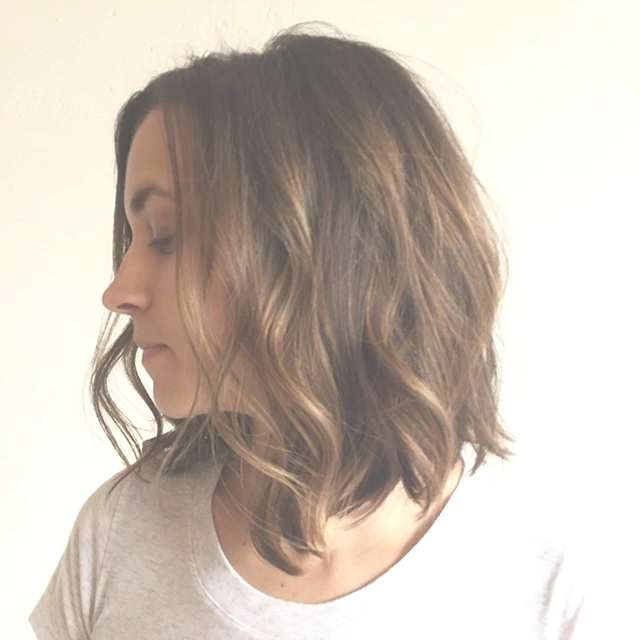 Layered Messy Bob Hairstyle For Medium Thick Hair | Styles Weekly Within Most Up To Date Medium Hairstyles With Layers For Thick Hair (View 16 of 25)