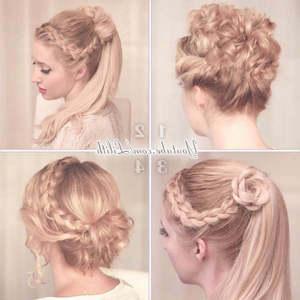 Lilith Moon: Prom/wedding Hairstyles For Medium/long Hair With Regard To  Most
