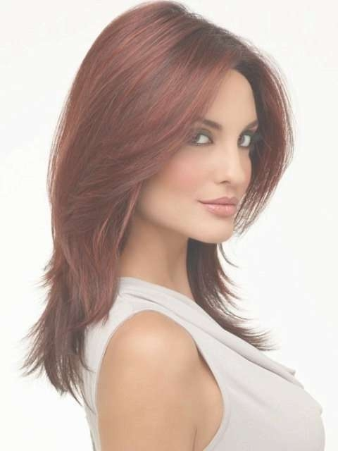 Loads Of Layers – 21 Sweet Hairstyles For Your Heart Shaped Face… With Regard To Most Up To Date Heart Shaped Face Medium Hairstyles (View 21 of 25)