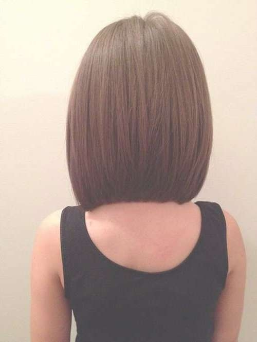 Long A Line Haircuts For Bob Hairstyles And Brown Hair Colors Within Line Bob Haircuts (View 13 of 25)