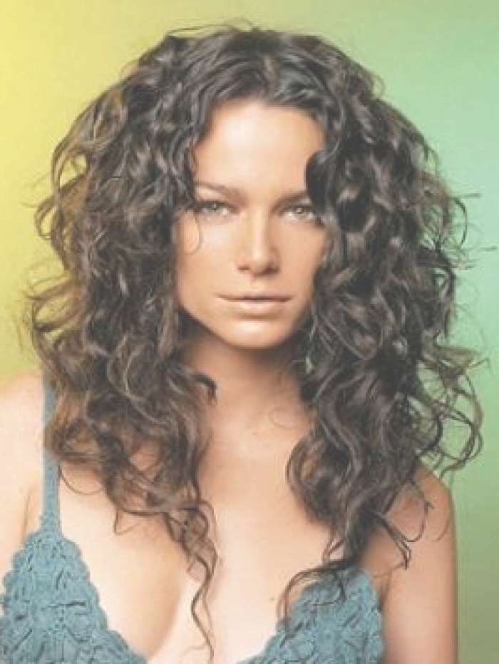 Long Hair Which Is Naturally Curly Can Be Styled In Lots Of Inside Most Up To Date Medium Haircuts For Naturally Curly Hair (View 12 of 25)